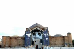مسجد کبود تبریز ،فیروزه اسلام