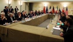 ظریف متن کامل بیانیه پایانی نشست لوزان را قرائت کرد~ غنی سازی فردو تعطیل شد ~بیانیه مشترک پایانی مذاکرات هسته ای ایران و 5+1:همه تحریم ها علیه ایران یکجا حذف خواهد شد.