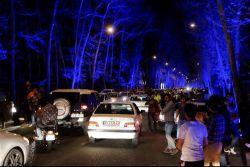 ... شادی مردم در خیابان های تهران پس از اعلام توافق هسته ای