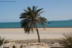 ساحل قشم از روی قلعه پرتغالیها