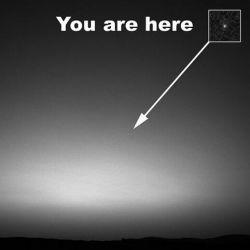 طلوع صبح در مریخ ' عکس زمین توسط کاوشگر مریخ
