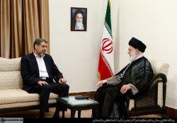 """نسبتا قدیمیه،""""رمضان عبدالله"""" دیدار با رهبری"""