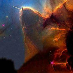 سحابی سر اسب یا اسب شاخدار ' فاصله ۱۵۰۰ سال نوری از زمین ' موقعیت در صورت فلکی شکارچی