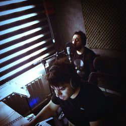 """روزهاى اول نوبهار و آخرین مراحل ضبط وكال آلبوم سوم در استودیوى دوست عزیزم معین راهبر """"مثل مجسمه"""""""