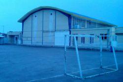 اینم سالن فوتبال مدرسه ی ما