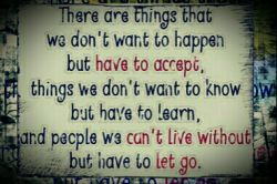 I don't want but....