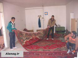 عکس ایام فاطمیه در آلانق نوروز 94 (1)