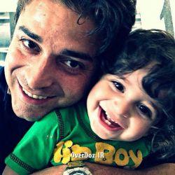 بابک جهانبخش و پسرش آرتا