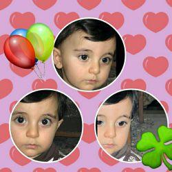 امروز تولد فندوق خاله است یکسالش شد پارسا