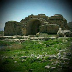 کاخ اردشیر ساسانی (اتشکده فارس)