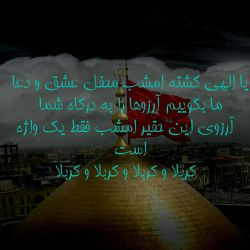 اللهم تارزقنا کربلا