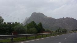 جاده زیبای استان لرستان-خرم اباد به طرف کرمانشاه