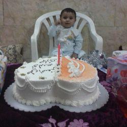 تولد یک سالگی عشق خاله(علی اصغر)