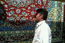هنرمندگمنامی که قالی فلزی درست کرده که به جرعت میتونم بگم دردنیابی نظیراست