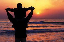 پدر دست یاری تو  اگه دستامو نگیره  کوره راه رفتن من  مثل شب هام می شه تیره  (مهدی فرجی)