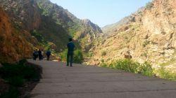 مسیر آبشار پالنگان