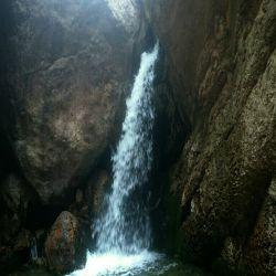 آبشار تنگه واشی، فیروزکوه  دیروز جای همه دوستان سبز