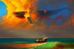 نهنگ آسمانی
