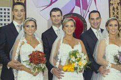 عروسی سه قلوها