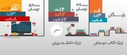 دریافت اشتراک اینترنت ADSL رایگان صبا نت در نمایشگاه کتاب تهران  در بیست و هشتمین نمایشگاه کتاب تهران از صبا نت اینترنت رایگان دریافت کنید برای کسب اطلاعات بیشتر به غرفه صبا نت در نمایشگاه کتاب تهران مراجعه کنید