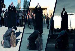 اعدام توسط داعش ومتاسفانه تماشای  مردم