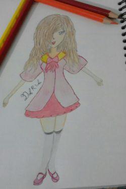 نقاشی انیمه ای من