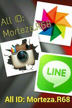 سلام دوستای گلم؛ آی دی من تو هرسه برنامه: Morteza.R68 خوشحال میشم همراهتون باشم. منتظرتونم