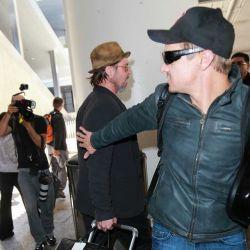 New ... bradpitt in Los Angeles Airport (LAX) 1#3 عکس جدید برد