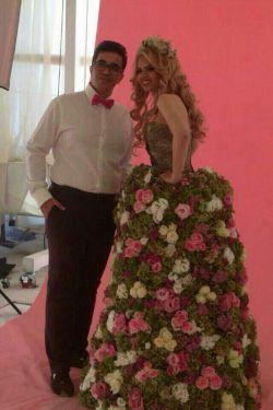 عروس گل و داماد خوشتیپ