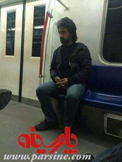 بدل داریوش خواننده لس آنجلسی در مترو تهران