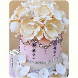 اینم کیک تولد من تقدیم به شما دوستان عزیزم… خیلی دوستتون دارم…