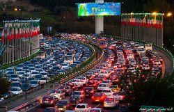 ترافیک کلانشهر تهران، گاهی