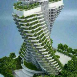چه معماری !!!! واقعا جالبه