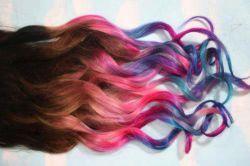 رنگای فانتزی برای موها