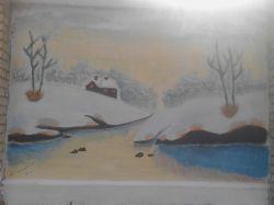 نقاشی من روی دیوار دبیرستان
