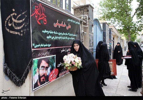 دیدار با مادر شهید علی خلیلی در روز تکریم از مادران شهدا