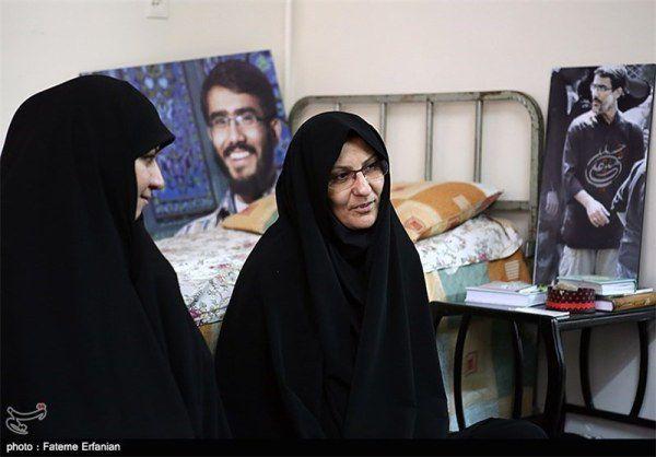 مادر شهید علی خلیلی