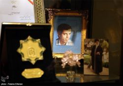 دیدار با خانواده شهید حسن باقری در روز تکریم مادران شهدا
