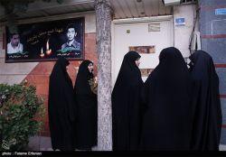 دیدار خواهران تشکل حزب الله سایبر با مادران شهدا