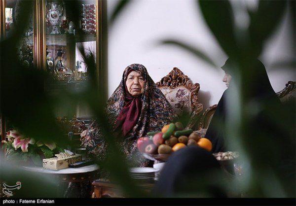 دیدار با مادر شهید حسن طهرانی مقدم