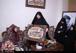 مادر شهید حسن طهرانی مقدم