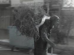 تلاش زن روستایی برای نان حلال