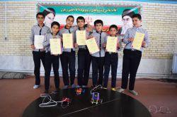 مسابقه ربات جنگجو مدرسه نمونه دولتی امام علی (ع)