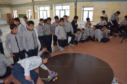کلاس رباتیک مدرسه نمونه دولتی امام علی