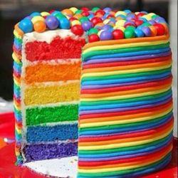 تولدت مبارک عزیزم این کیک تقدیم به تو فقط ببخشید یه خوردشو خوردم