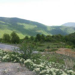 جاده شاهرود به گرگان .توسکستان