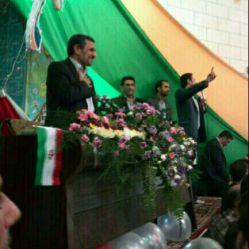 احمدی نژاد در همدان ^…^ امروز