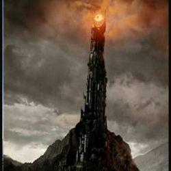 نماد چشم دجال بالای برج