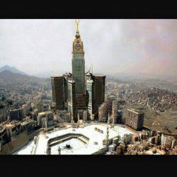 برج البیت یکی از نمادهای شیطانی.ابلیسک آل سعود