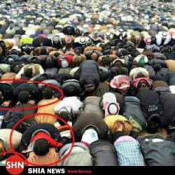 نماز جماعت وهابیا!